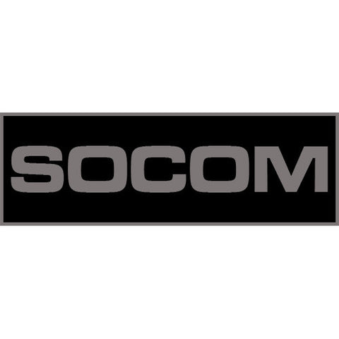 SOCOM Patch Large (Black)