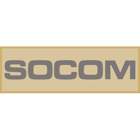 SOCOM Patch Small (Tan)