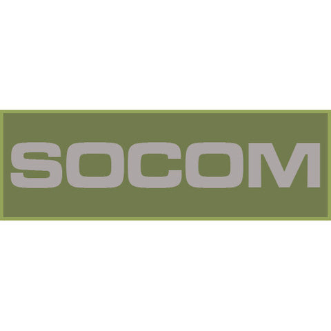 SOCOM Patch Large (Olive Drab)