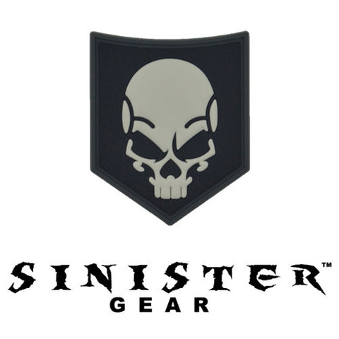 "Sinister Gear ""SOF Skull"" PVC Patch - SWAT"