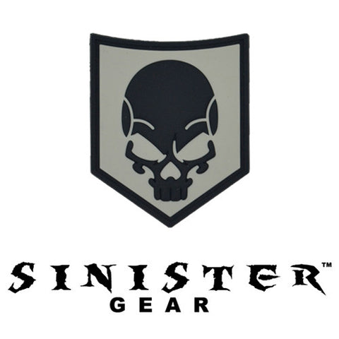 "Sinister Gear ""SOF Skull"" PVC Patch - TAWS"