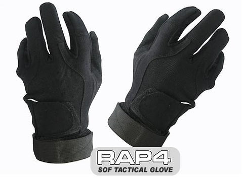 BLACK SOF Tactical Glove (Full Finger)