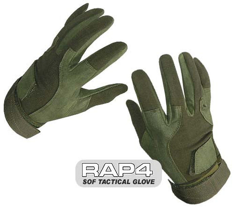 OLIVE DRAB SOF Tactical Glove (Full Finger)