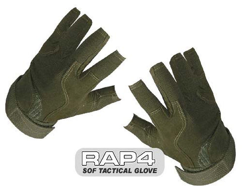 OLIVE DRAB SOF Tactical Glove (Open Finger)