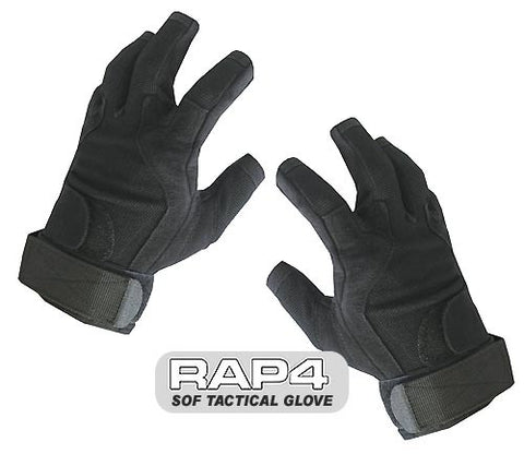 BLACK SOF Tactical Glove (Open Finger)