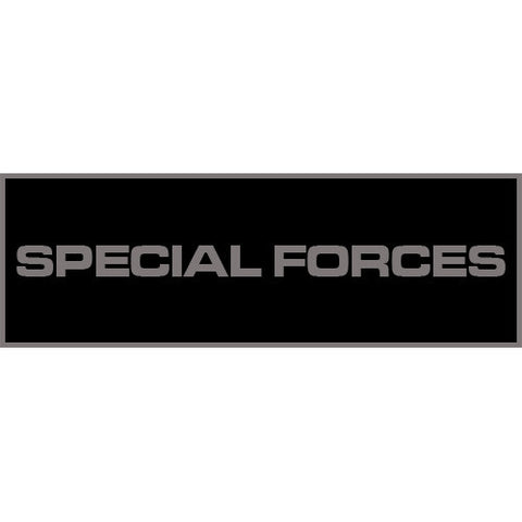 Special Forces Patch Small (Black)