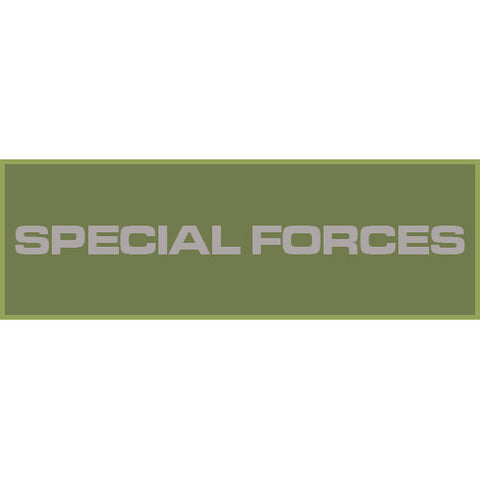 Special Forces Patch Large (Olive Drab)