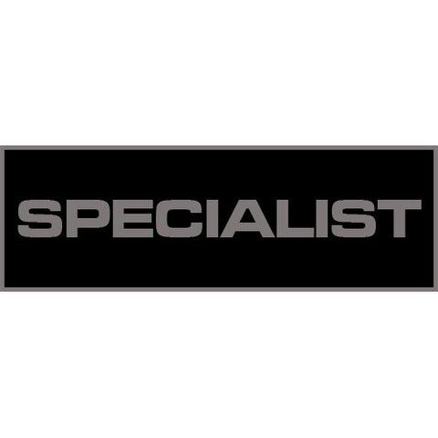 Specialist Patch Large (Black)