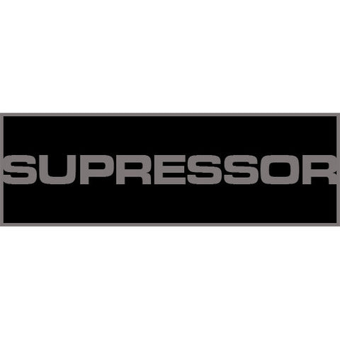 Suppressor Patch Small (Black)