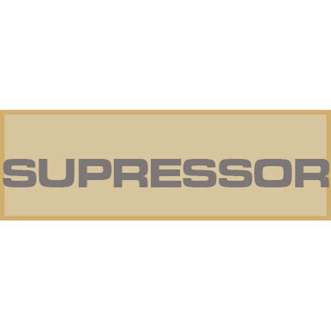 Suppressor Patch Large (Tan)