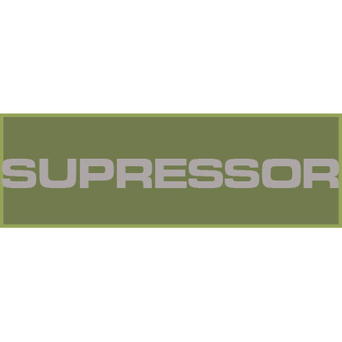 Suppressor Patch Large (Olive Drab)