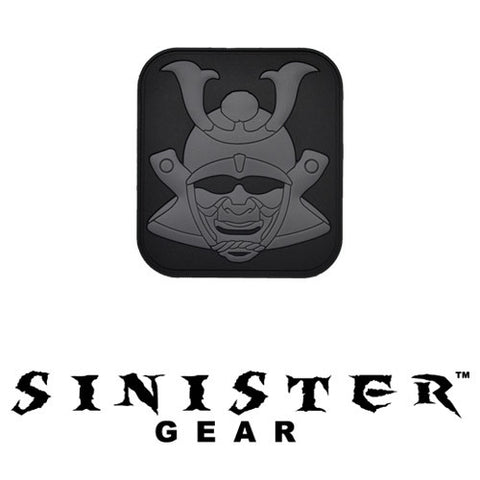 "Sinister Gear ""Samurai"" PVC Patch - Dark"