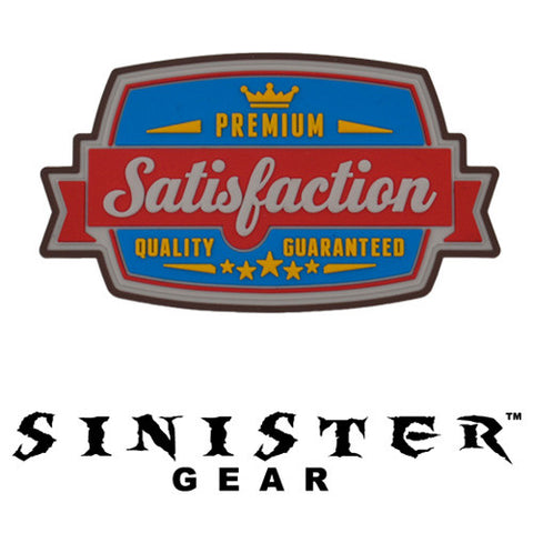 "Sinister Gear ""Satisfaction"" PVC Patch - Color"