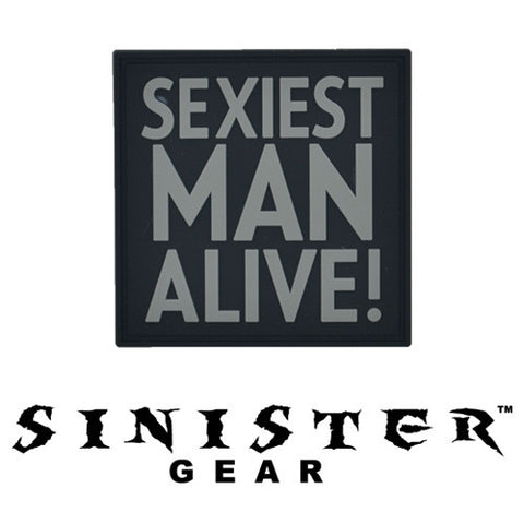 "Sinister Gear ""Sexy"" PVC Patch - Dark"