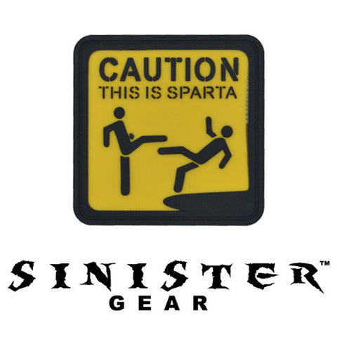 "Sinister Gear ""Sparta"" PVC Patch - Color"