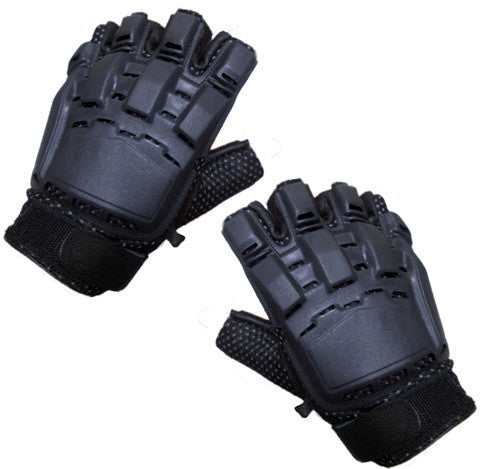 Armored Tactical Glove (Open Finger)