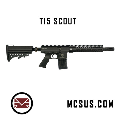 T15 Scout Bolt Action Pump Paintball Marker