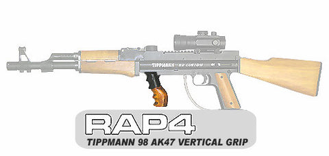 TACAMO AK47 Wood Vertical Grip (T98)
