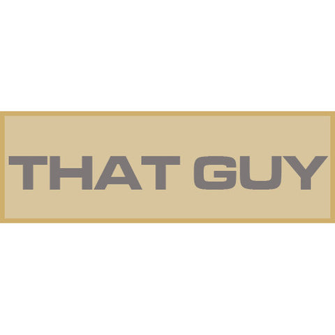 That Guy Patch Large (Tan)