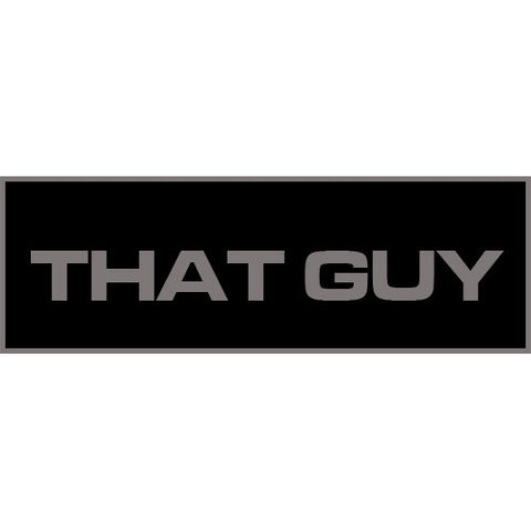That Guy Patch Large (Black)
