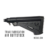 Triad Fabrication Fixed Air Buttstock and Remote Adapter