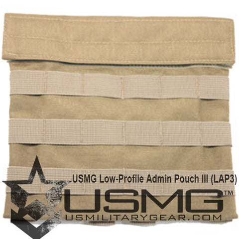 TAN Low-Profile Admin Pouch