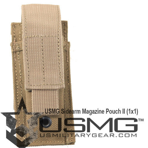 TAN Single Sidearm Magazine Pouch