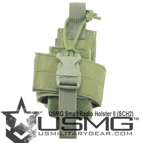 OLIVE DRAB Small Radio Holster