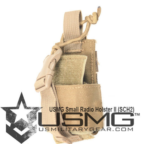 TAN MOLLE Small Radio Holster