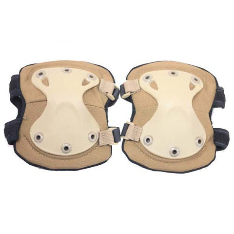 TAN Spartan Elbow Pads