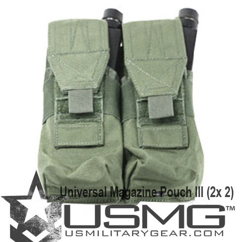 OLIVE DRAB Double Universal Magazine Pouch