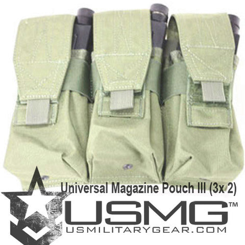 MOLLE Triple Universal Magazine Pouch (OLIVE DRAB)