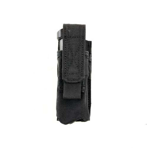 BLACK Single Advanced Sidearm Magazine Pouch
