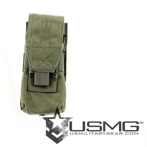 OLIVE DRAB MOLLE  Single Universal Magazine Pouch