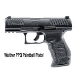 Walther PPQ M2 Paintball Pistol (Blue) (Extra Magazine)