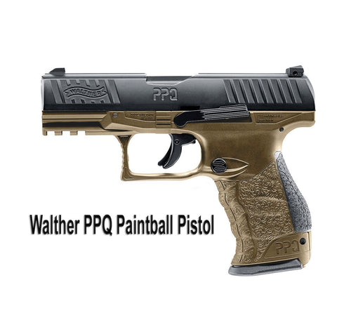 Walther PPQ M2 Paintball Pistol (Tan)