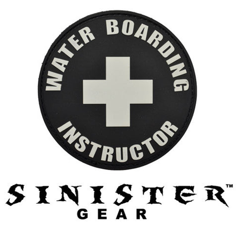 "Sinister Gear ""Waterboard"" PVC Patch - SWAT"