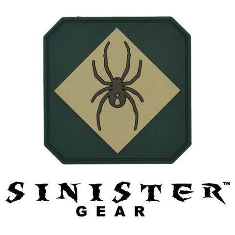 "Sinister Gear ""Widow"" PVC Patch - Forest"