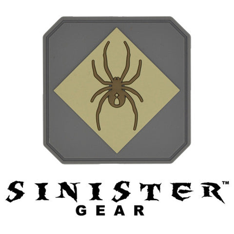 "Sinister Gear ""Widow"" PVC Patch - Light"