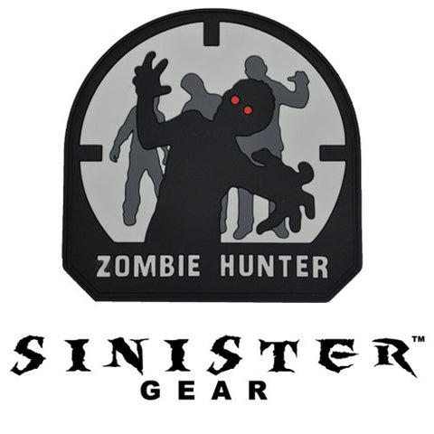 "Sinister Gear ""Zombie Hunter"" PVC Patch - SWAT"