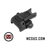 Alpha Low Profile Tactical Flip Up Sights (Front)