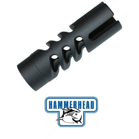Hammerhead Snaggle Tooth Muzzle Brake (7/8 muzzle threads)