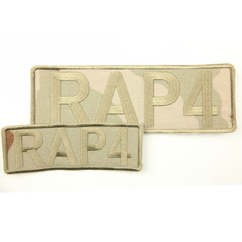 RAP4 Camo Patch Set (Desert Camo)