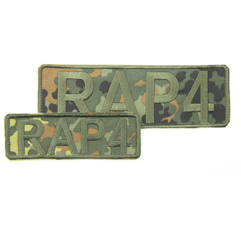 RAP4 Camo Patches Set (German Flecktarn)
