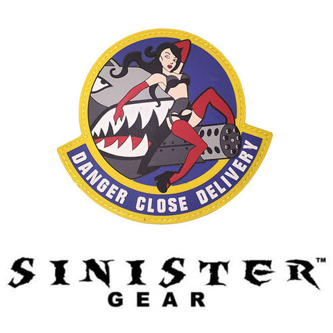"Sinister Gear ""Close Delivery"" PVC Patch"