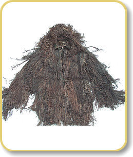 Medium Size Complete Ghillie Suit (Oak Leaf Camo)