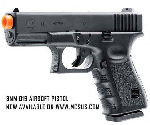 GLOCK 19 Gen3 Gas Blowback 6mm Airsoft Pistol