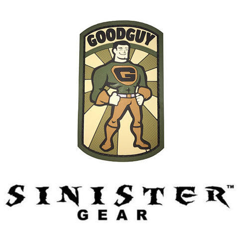 "Sinister Gear ""Goodguy"" PVC Patch"