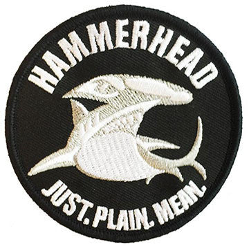 Hammerhead Patch (Black)