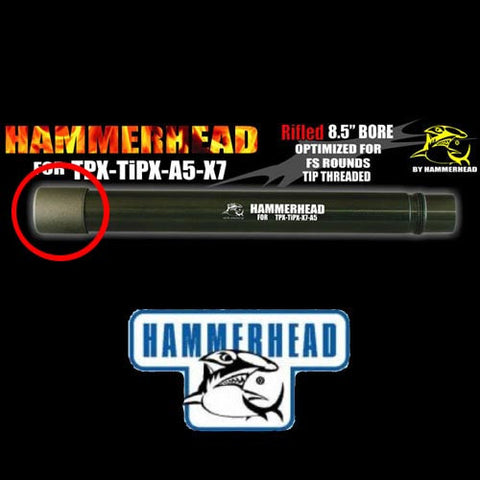 Hammerhead Crown Tip Muzzle Brake